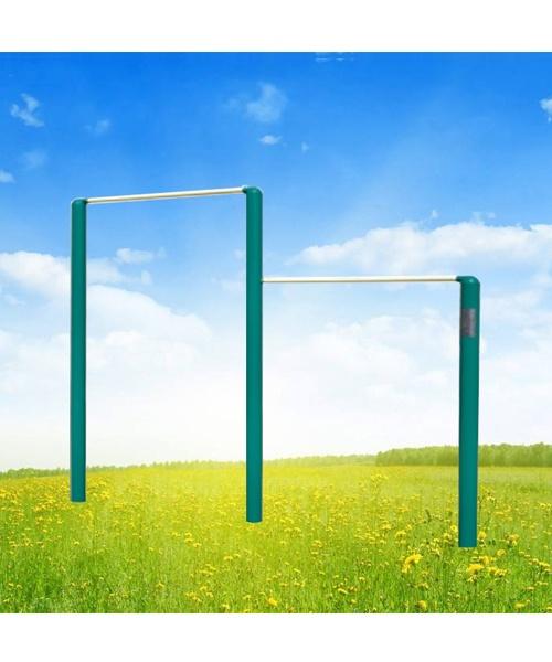 锻炼方法: 跳起并抓紧横杠,做引体向上,屈臂悬垂或向前, 向后摆动等
