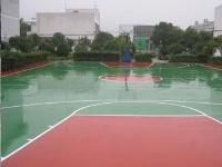 景德镇收费所硅PU篮球场