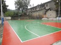 江西省 宜春市 宜丰县石花尖垦殖场 硅PU篮球场